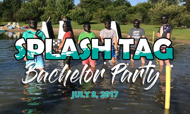 Splash Tag® Bachelor Party