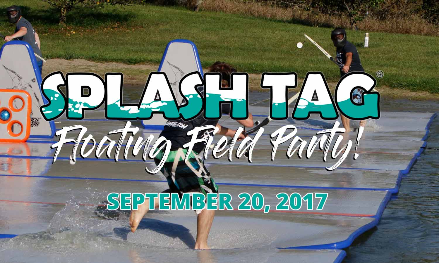Splash Tag® Floating Field Party!