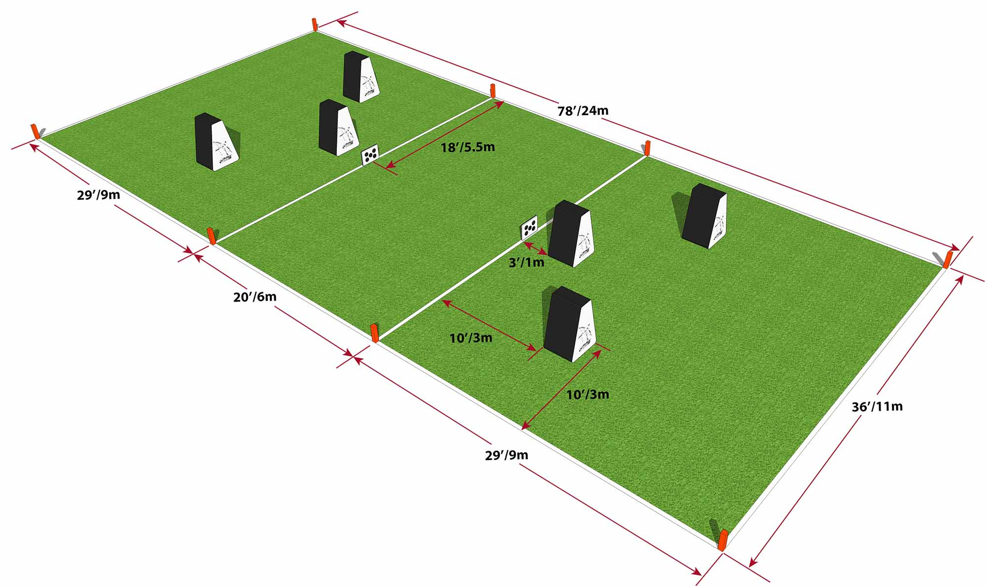 Archery Tag® Field Layout