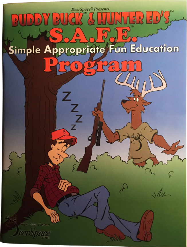 Hunter Education Coloring and Activity Book