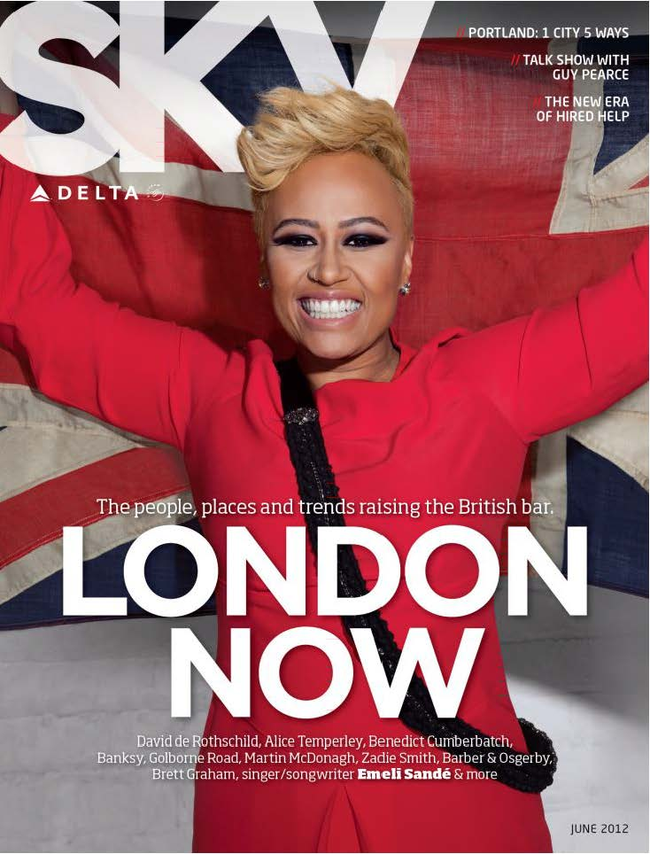 Delta Sky Magazine June 2012 Cover