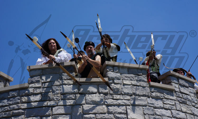 Archers defend the castle!