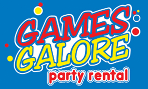 Logo for Games Galore Party Rental