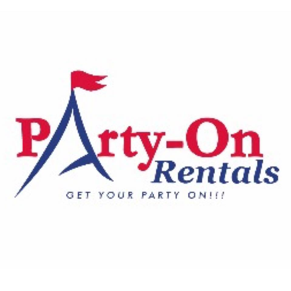 Logo for Party-On Rentals