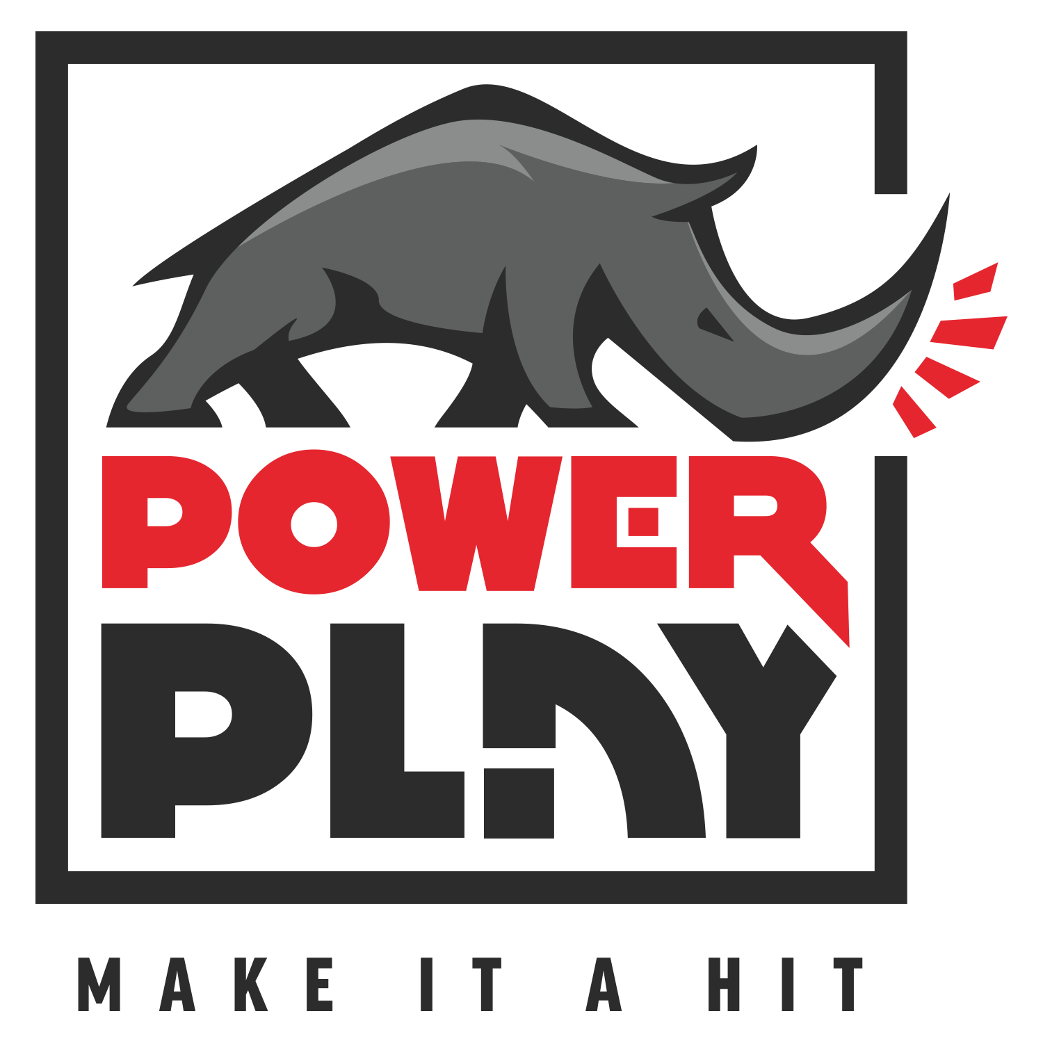Logo for Power Play - Charlottesville