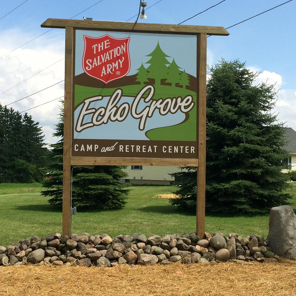 Logo for The Salvation Army Echo Grove Camp